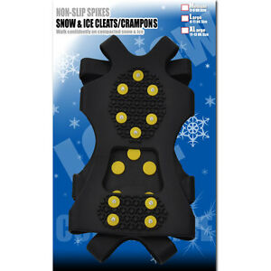 Anti Ice Spikes Shoes Slip Children Crampons Boot Grips Cleats Snow Grippers For