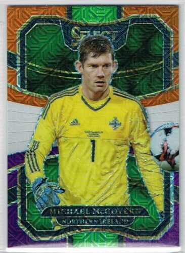 Panini SELECT SOCCER 2017-2018 ☆ MULTI-COLOR PARALLEL ☆ Terrace Cards #1 to #100