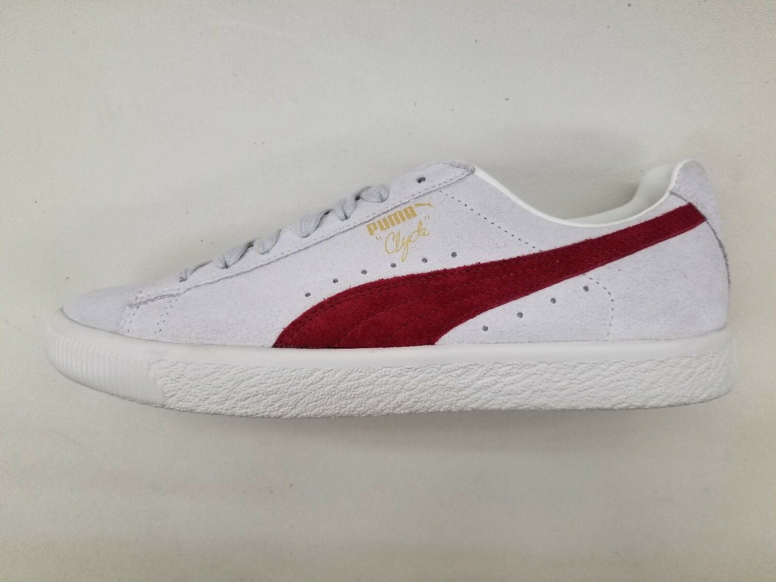 PUMA CLYDE FROM THE ARCH-IVE CREAM OFF Blanc CHERRY Homme Taille SNEAKERS 365319-01