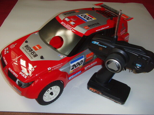1 9 GS Racing MITSUBISHI Conqueror RALLY SUV 4WD RTR True Scale New