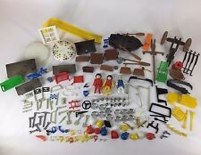 Playmobil 164 Piece Lot 1974-1981 Sets Figures Knight Pirates Cavalry Western+