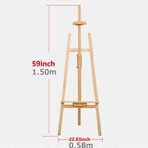 Natural Wood Easel Artwork Display Picture Photo Drawing Painting Frame Holder
