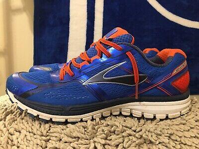 Blue/Orange, Men's Running Shoes, Size