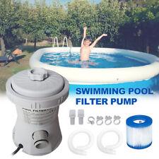 Schwimmbad Filterpumpe Filteranlage Gerät für Teich Brunnen Swimming Pool 20W DE