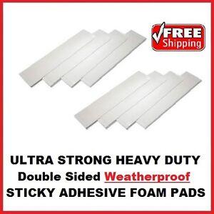 32x Heavy Duty espuma de doble cara almohadillas adhesivas pegajoso fijar Interior Al Aire Libre Bricolaje