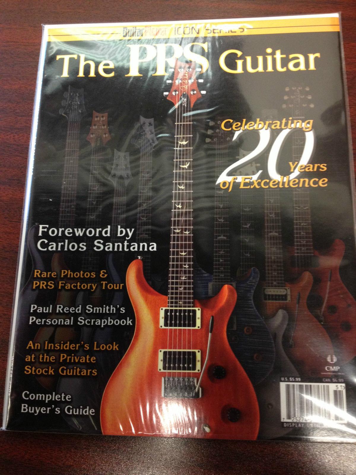 PRS Paul Paul Paul Reed Guitar Player Magazine Libro-Smith 2005 rara edición especial Cool 0d7f33