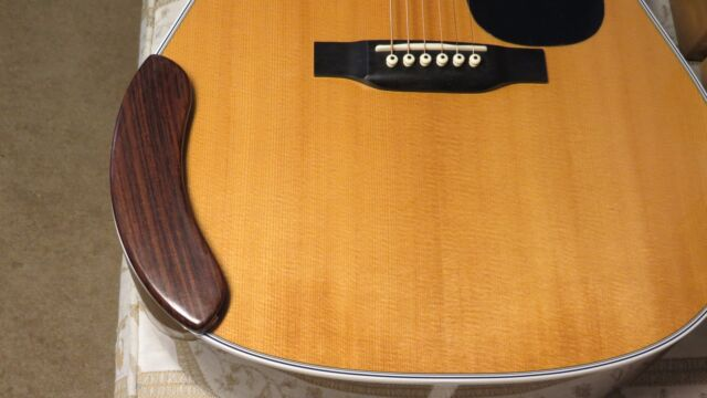 Don's Guitar Rosewood Arm Rest  MAXIMIZE VOLUME & TONE