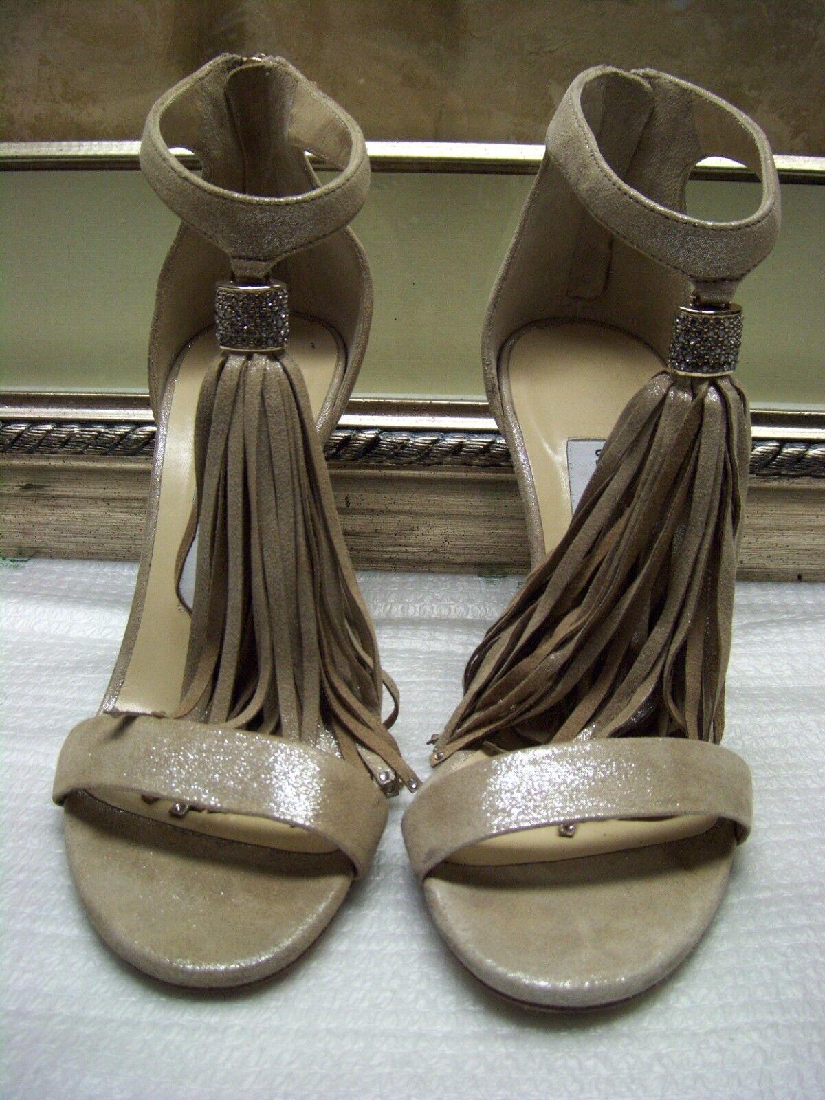 Authentic Jimmy Choo lila Ankle Strap Sandal schuhe schuhe schuhe Größe 35.5  975.00 f11467