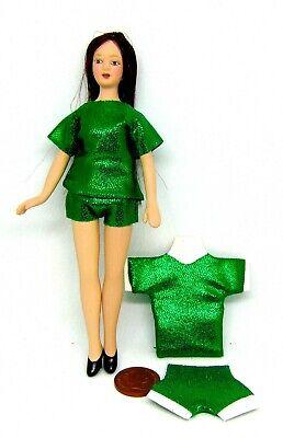 1:12 Scala Donna Pantaloncini E T-shirt Tumdee Abbigliamento In Miniatura Casa Delle Bambole Set 6-mostra Il Titolo Originale