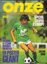 1976 onze n°9 C.S.K.A SOFIA HIBERNIAN SOUTHAMPTON ESPANOL BERCELONE KEEGAN