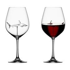The Original Shark Wine Glass - Handmade Crystal - FREE SHIPPING