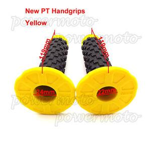 New-7-8-034-Handlebar-Soft-Throttle-Hand-Grips-For-MX-Motocross-Pit-Pro-Dirt-Bike