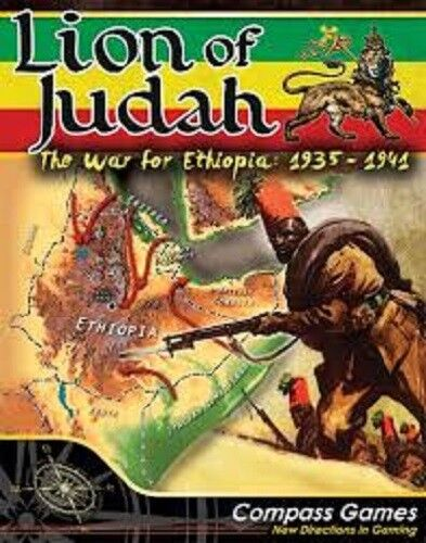 LION OF JUDAH - THE WAR FOR ETHIOPIA  1935-1941 - COMPASS GAMES