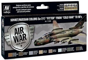 Vallejo-Model-Air-Set-Soviet-Russian-colors-Su-7-17-034-Fitter-034-COLD-WAR-8