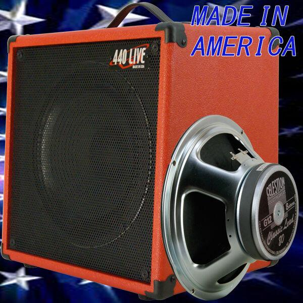 1x12 Guitar Speaker Extension Cabinet W 8 Ohm CELESTION C Lead 80 fire rot tolex