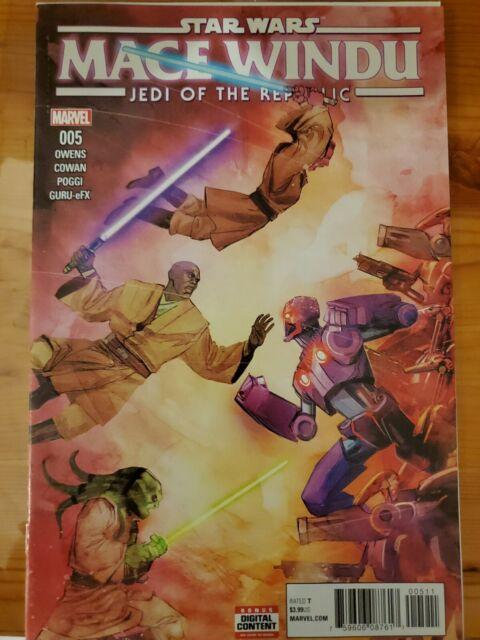 Star Wars: Mace Windu: Jedi of the Republic #5 (2018, Marvel) Ahsoka Tano : NM