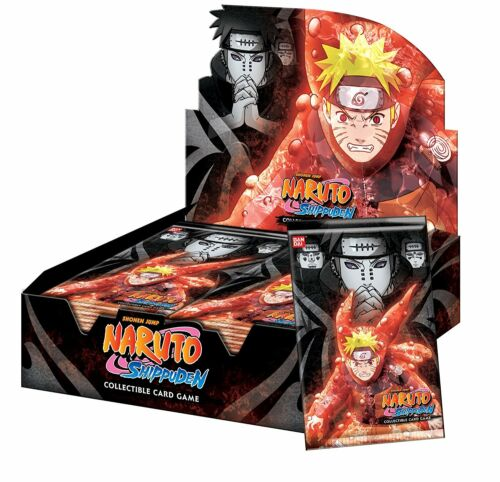 Naruto TCG Path Of Pain Booster Box 24 BOOSTER PACKS