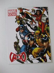 RARE  A X  MARVEL NOW ART PROMO  POST CARD MINT CONDITION