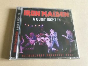A-QUIET-NIGHT-IN-by-IRON-MAIDEN-Compact-Disc-SMCD973-rare-live-tracks