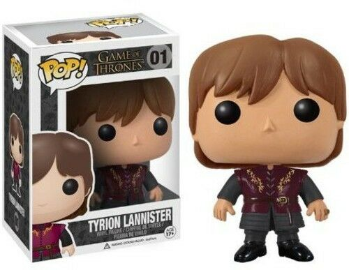 Game Of Thrones - Tyrion Lannister - Funko Pop! Television (2012, Toy New)
