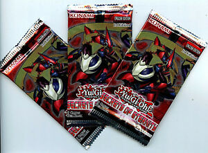 Yu-Gi-Oh-Konami-Secrets-of-Eternity-1st-edition-3X-Pack-English-Boosters-z6