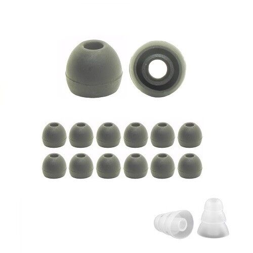Silicone ear tips for AKG /& Samsung 8; replacement earbud tips for Samsung 8