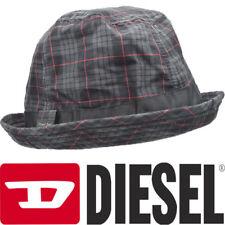 82541dd4ea01a DIESEL COSMUKI CAPPELLO 00SBML Mens Homburg Hats Mens Summer Hat Check  Fedora