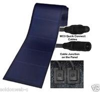 Peel & Stick 136 watt Uni-Solar Laminate Solar Panel Flexible 24v Unisolar