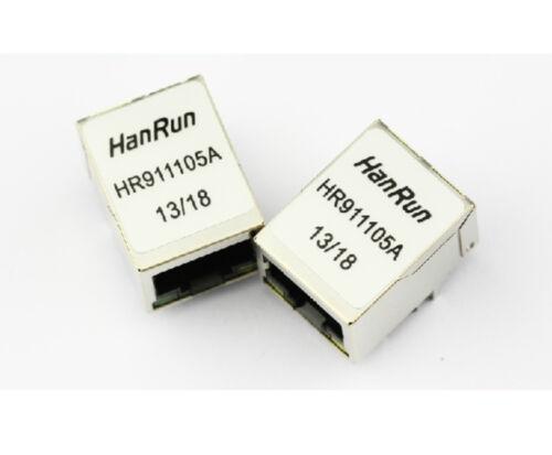 10 Piezas hr911105a Hr911105 Red Transformador hanrun