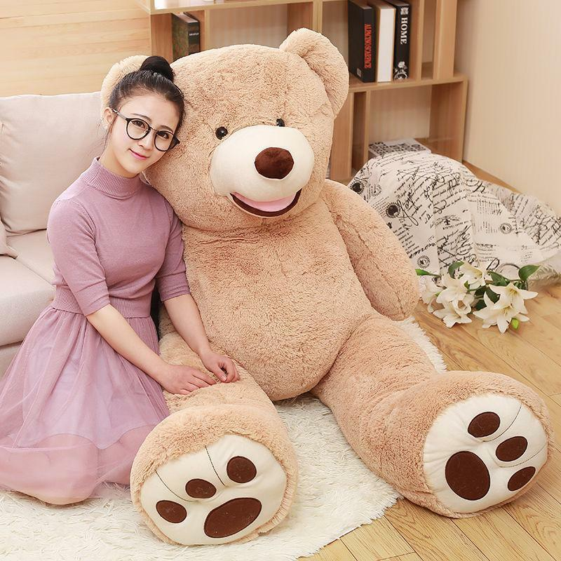63'' Teddy Bear Gaint with Big Plush Pillow Stuffed Animals Valentine's day gift