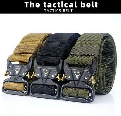 """49x1.7"""" Enniu Männer Tactical Belt Military Nylon Schnalle Gürtel Task Strap Starker Widerstand Gegen Hitze Und Starkes Tragen"""