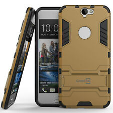 for HTC One A9 Phone Case Armor Kickstand Slim Hard Cover Gold / Black