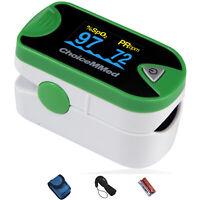 ChoiceMMed Dual Color OLED Finger Pulse Oximeter