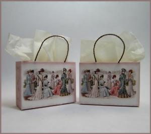 Pair of Beautiful Shopping Bags Kit CHM