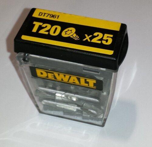 Extreme Impact DT70527 PZ2 PZ 2 Dewalt Bits PZ2x25mm 25 Stk