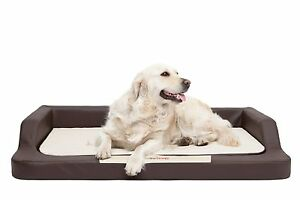 Dog bed xl xxl memory foam orthopedic mattress sofa for Divano ortopedico per cani