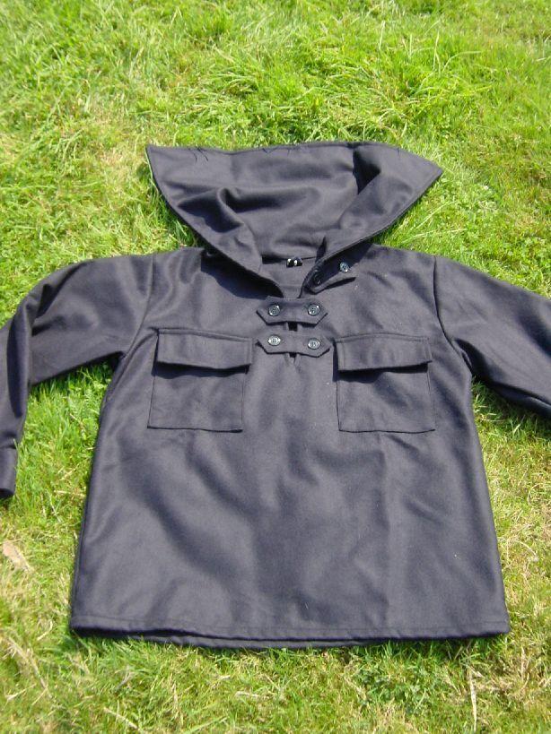 Wolltuch-Juja   Juscha   Jungenschaftsjacke für Pfadfinder aus Wolltuch schwarz