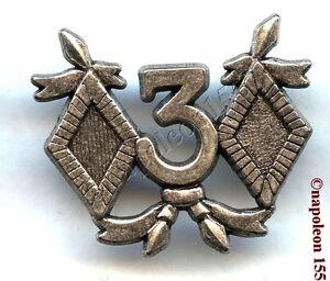 CAVALERIE-3-eme-Rgt-de-Cuirassiers-insigne-tenue-de-Combat-Fab-Drago-Noisiel