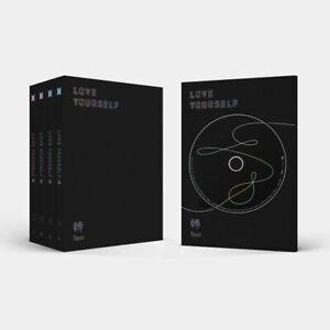 BTS-LOVE-YOURSELF-TEAR-3rd-Album-Random-CD-Photobook-Photocard-Gift-Sealed