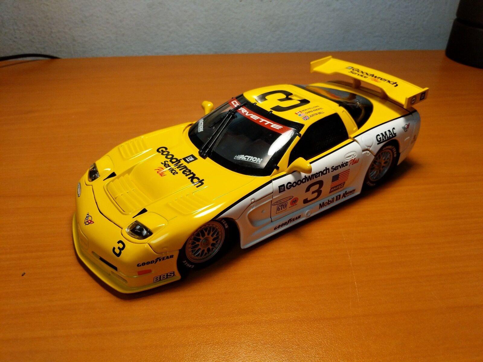 Action 1 18 2000 Corvette C5-R GM Goodwrench Service Plus L.E. 1 of 2,268