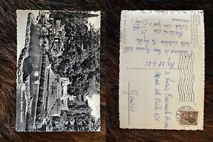 Cartolina-primi-del-900-Bergamo-Donizetti-con-francobollo-viaggiata-scritta