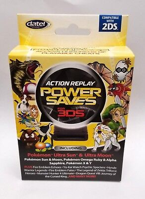 Datel Action Replay Power Saves for 3DS & 2DS Cheat Codes Pokemon Ultra Sun  Moon 854856002752   eBay