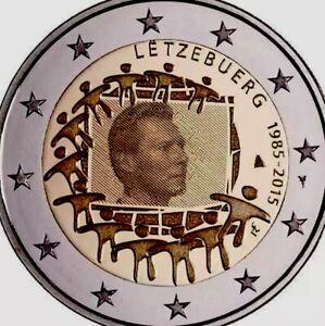 Luxembourg Pièce 2 € Euro 2015 Commémorative Flag Drapeau Neuf Unc De Rouleau-afficher Le Titre D'origine Njvzbt6o-07232039-284931793