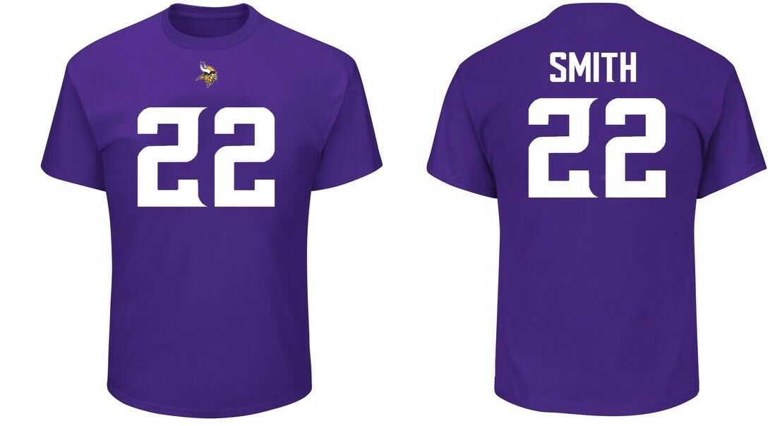 NFL T-shirt Minnesota Vikings Harrison Smith 22 LILLA er3 Receiver Maglia Jersey