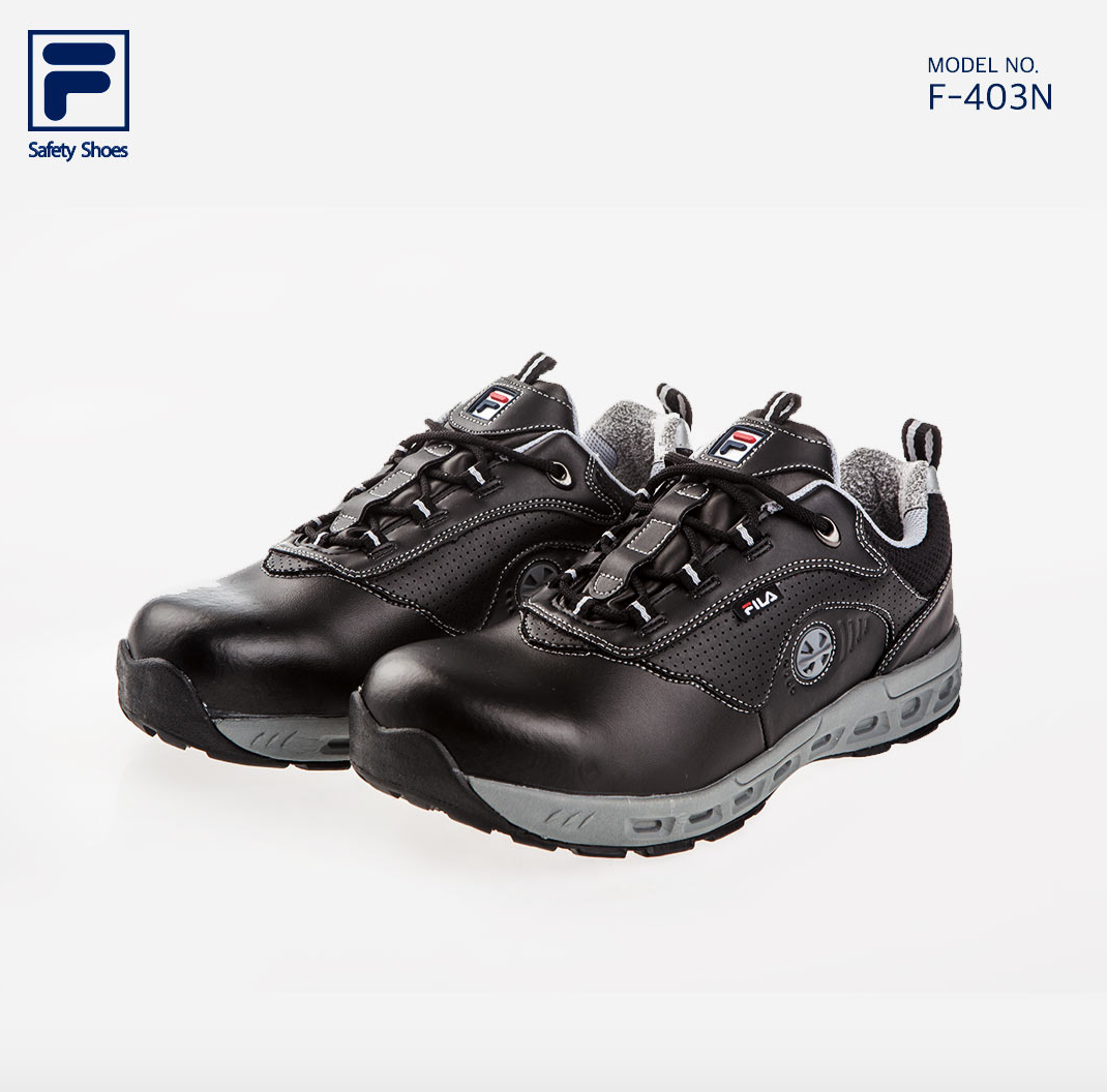 dc0c475470 FILA Brand New Safety Shoes Jogger F-403N Work shoes Steel Toe US 7 ...