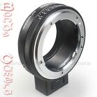 Commlite Nikon F AF-S G lens To Sony E Mount NEX Adapter Aperture A7 A6000 7 A7S