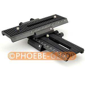 4-way-Macro-Shot-Focusing-Focus-Rail-Slider-for-CANON-NIKON-SONY-Camera-D-SLR