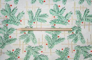 1-uralt-Rolle-Weihnachts-Krepppapier-zum-Basteln-fuer-Christbaumschmuck-Zweige