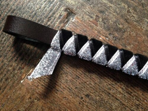 Made to order Velvet and Silver Sparkle Show//Everyday Browband  BN