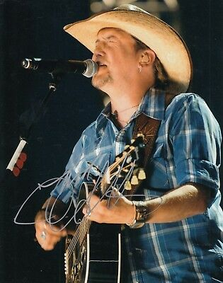Special Section Jason Aldean Signed country Music Star 8x10 *rearview Town* Photo W/coa #1 Attractive And Durable